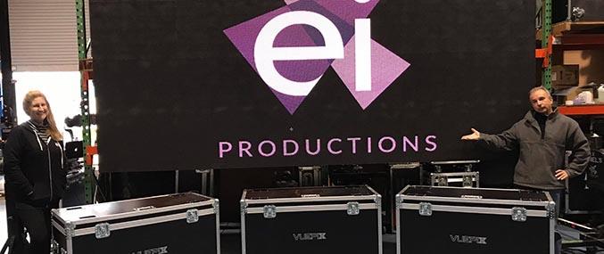 EI Productions purchase Vuepix ER5.9 LED screens