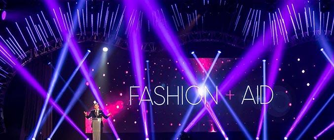 Fashion + Aid 2017 with Resolution X