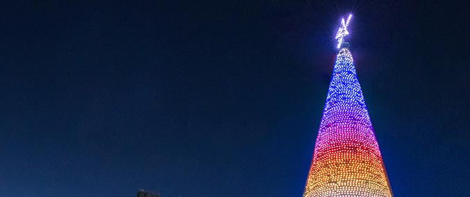 Adelaide City Christmas Tree with ETA